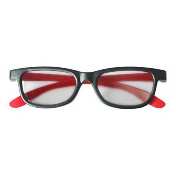 [macyskorea] UltraByEasyPeasyStore 3 Pairs of Red & Black Adults Passive 3D Glasses univer/14615058