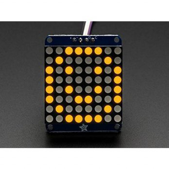 [macyskorea] Adafruit (PID 871) Mini 8x8 LED Matrix w/I2C Backpack - Yellow/16098322