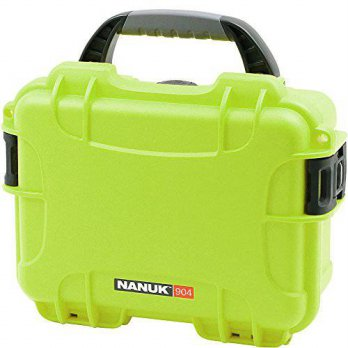 [macyskorea] Plasticase, Inc. Nanuk 904 Waterproof Hard Case with Foam - Lime/15854779