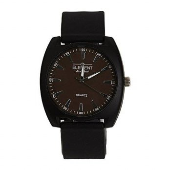 [macyskorea] ELEMENT Elegant Element Mens Watch with Black Band and Brown Face/15810446