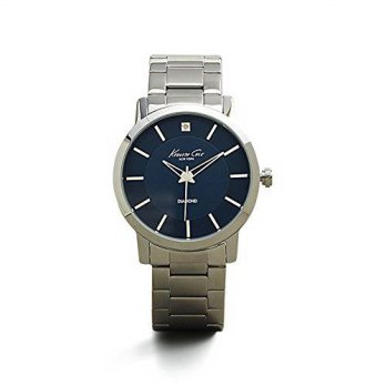[macyskorea] Kenneth Cole New York Mens KC9329 Rock Out Round Blue Diamond Dial Bracelet W/15781801