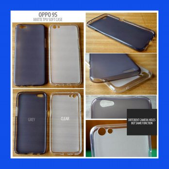 Oppo R9S Matte TPU Soft Case Casing Cover