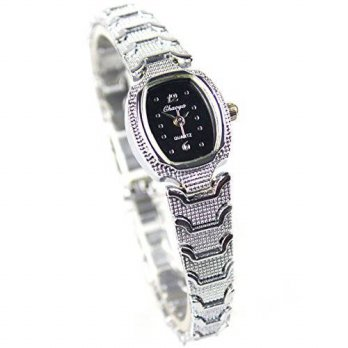 [macyskorea] Cutebox Fashion Womens Quartz Analog Display Stainless Steel Silver Bracelet /15781698