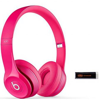 [macyskorea] Beats by Dr. Dre Solo 2.0 Pink On-Ear Headphones Travel Bundle with Portable /15777162