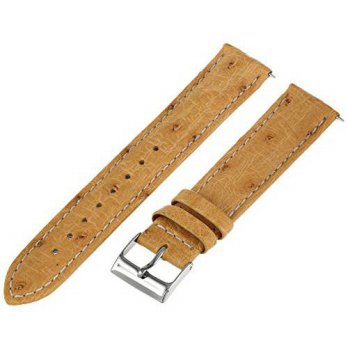 [macyskorea] Swiss Watch International 19OS12C 19mm Camel Genuine Ostrich Watch Strap/15781891