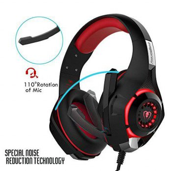 [macyskorea] Mutrees Gaming Headset with Microphone, Over-Ear Gaming Headphones with Volum/15700408