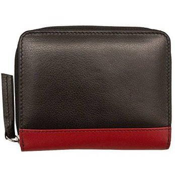 [macyskorea] ILI ili Leather 7446 French Wallet with RFID (Black/ Red)/14709741