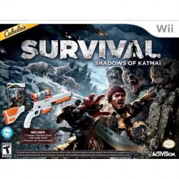 [macyskorea] Activision Cabelas Survival: Shadows of Katmai with Gun - Nintendo Wii/15859150