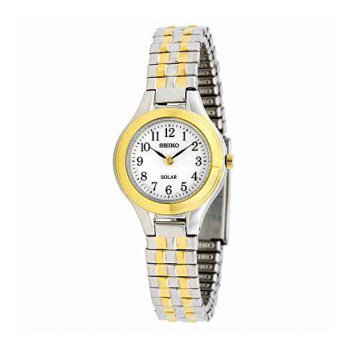 [macyskorea] Seiko Watches Seiko Womens SUP100 Two Tone Stainless Steel Analog White Dial /15819217