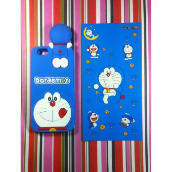 iPhone 6 6s Cartoon Doraemon #2 Soft Silicon Back Cover Case