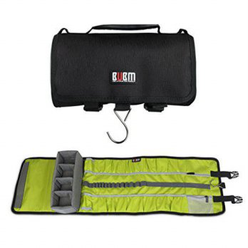 [macyskorea] 0721H BUBM Large Canvas Travel Roll Bag Camera Rollup Protective Case for Gop/15854176