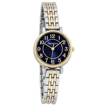 [macyskorea] Ferretti Womens | Chic Small Two Tone Gold and Silver Watch with thin Metal B/15819051