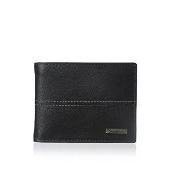 [macyskorea] Steve Madden Mens Kid Center PA Wallet, Black, One Size/16126494