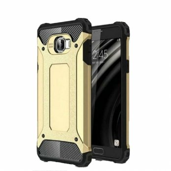 Spigen Iron Samsung S6 Edge Plus Armor Hardcase Transformers Robot Case Gold