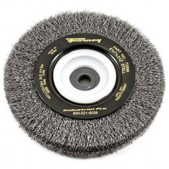 [macyskorea] Forney 72896 Wire Bench Wheel Brush, Industrial Pro Crimped with 1/2-Inch Thr/14564749