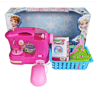 Mesin Jahit Frozen + Keranjang / sewing machine frozen SJ100