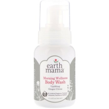Earth Mama Morning Wellness Body Wash 160ml Ginger Citrus