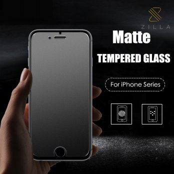 Zilla 2.5D Matte Tempered Glass Curved Edge 9H for iPhone 7/8