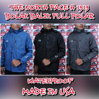 JAKET GUNUNG / OUTDOOR THE NORTH FACE H-1513 (BOLAK BALIK) EIGER