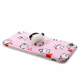 Case Squishy Love Panda for iPhone 6 Plus / 6S Plus