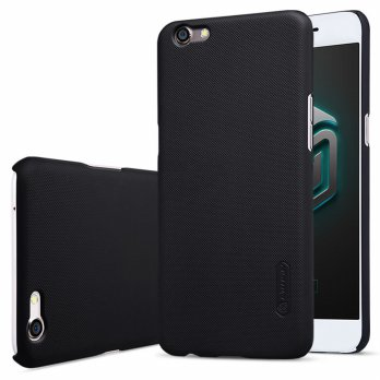 Nillkin Super Frosted Shield Hard Case for Oppo R9S Plus - Black