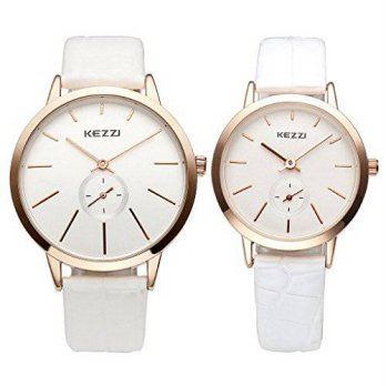 [macyskorea] JSDDE His and Her GiftsAnalog Japanese Quartz Water Resistant Casual Thin Cas/15812159