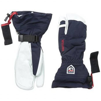 [macyskorea] Hestra Army Leather Heli Ski 3-Finger Gloves, Navy, 8/13775488