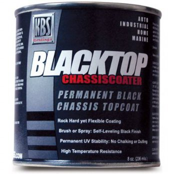 [macyskorea] KBS Coatings 8202 OEM Satin Black BlackTop Chassis Paint - 8 fl. oz./14511670