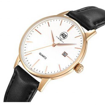 [macyskorea] AIBI Womens Watch Quartz Black Leather Band Waterproof Watches For Lady 34mm /15812187