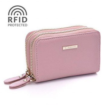 [macyskorea] Minicastle RFID Blocking Wallet for Women Leather Credit Card Holder with Key/14978492