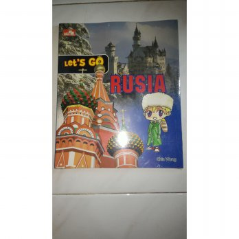 Let's Go Rusia Full Color - Chia wong