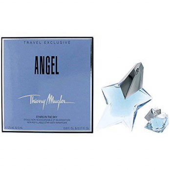 [macyskorea] THIERRY MUGLER Angel 4-Piece Eau De Parfum Spray Refillable Plus Perfumed Pou/15537946