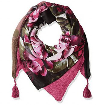 [macyskorea] Desigual Womens Mix Square Georgia Foulard Scarf, _Brown, One Size/15888447
