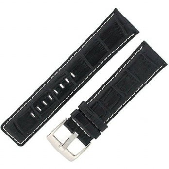 [macyskorea] Watch Band Black Leather Crocodile Grain Sport Model 24 millimeter Tech Swiss/15818845