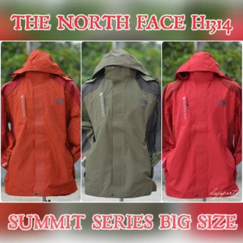 THE NORTH FACE BIG SIZE JUMBO WATERPROOF JAKET GUNUNG