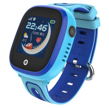 SKMEI Kids Monitoring Smartwatch LCD Screen with GPS + SOS Function - DF31G - Blue