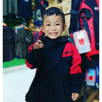 Jaket gunung anak REDMAN Kids Adventure WATERPROOF