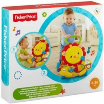 (Siap Kirim) fisher price musical lion walker