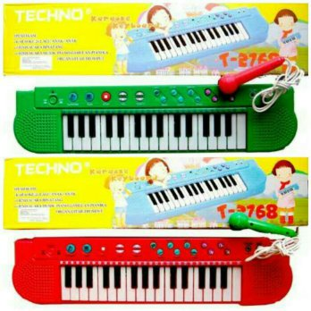 Mainan Piano Techno 2768