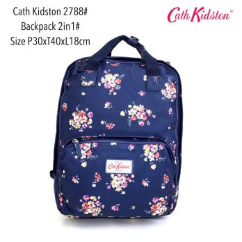 Tas Ransel Import Fashion Backpack Basic 2in 1 2788 - 2