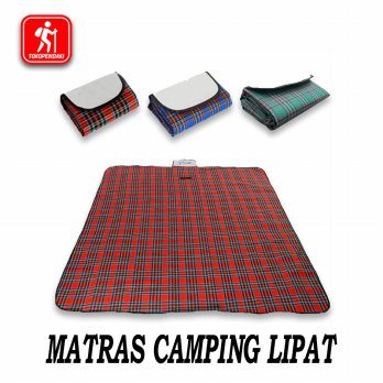 Matras Piknik Camping Tenda Model Baru Waterproof