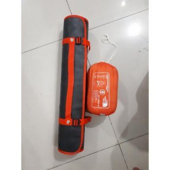 paket hemat sleepingbag polar+matras camping