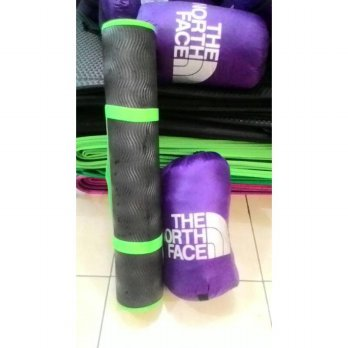 Sleeping Bag TNF Polar Bulu dan Matras Camping 3mm