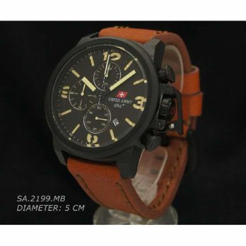 Swiss Army 2199 Brown Leather Original  1b2dd04498