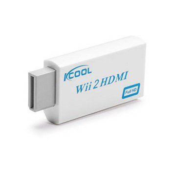 [macyskorea] KCOOL Wii to HDMI Converter Output Video Audio Adapter - Supports All Wii Dis/15701714