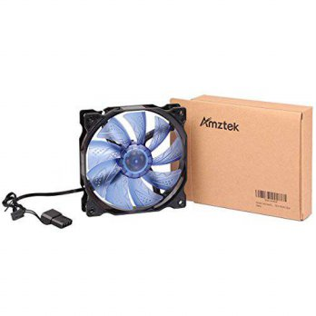 [macyskorea] Amztek Ultra Quiet Desktop Case, HDD Cooling Fan, 120 x 120 mm, Blue/15771094