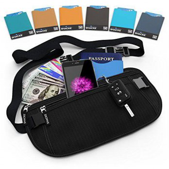 [macyskorea] Shacke Money Belt Pouch w/ Slacker Clip Technology - RFID Passport & CC Card /13971010