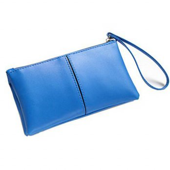 [macyskorea] ZOONAI Womens Long Leather Zipper Clutch Wallet Credit Card Holder with Wrist/13970182
