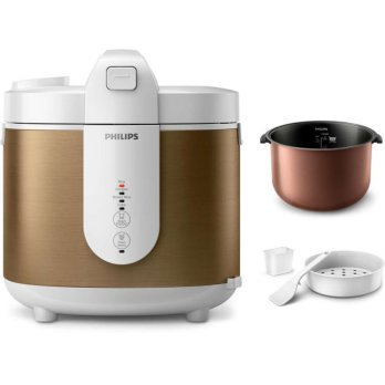 PHILIPS Digital Rice Cooker 4 in 1 2Liter - HD3053