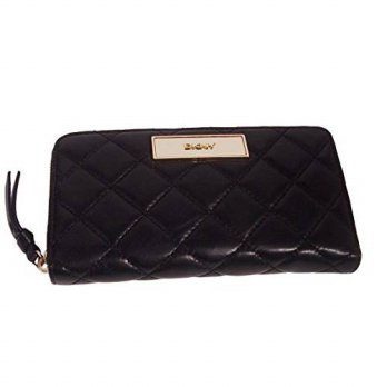[macyskorea] DKNY Womens Quilted Leather Zip Around Wristlet Wallet Bag/16126404